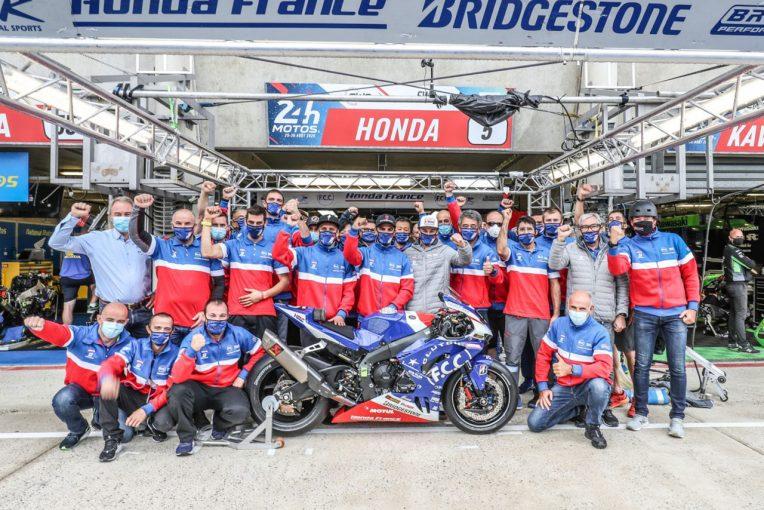 MotoGP   新型CBR1000RR-RでEWCル・マン24時間を制したTSRホンダ「最高の気分。魔法にかかったような気持ち」