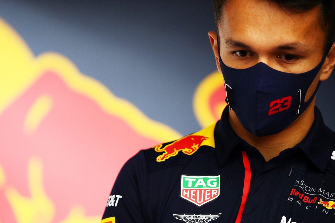 2020年F1第7戦ベルギーGP アレクサンダー・アルボン(レッドブル・ホンダ)
