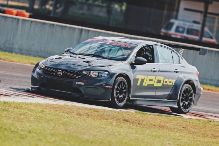 海外レース他   TCRサウス・アメリカ参戦に向け、新型『フィアット・ティーポTCR』が初テスト