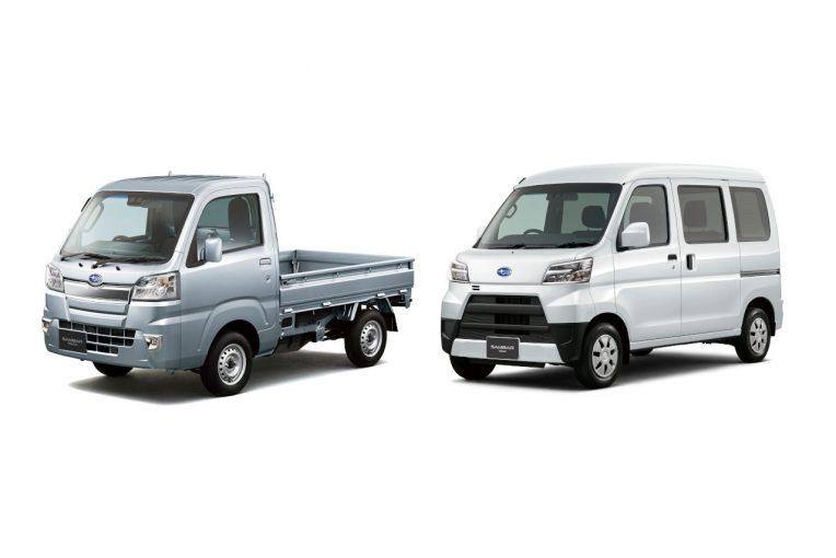 クルマ | スバル・サンバートラック、サンバーバンが一部改良。全車にオートライト標準装備