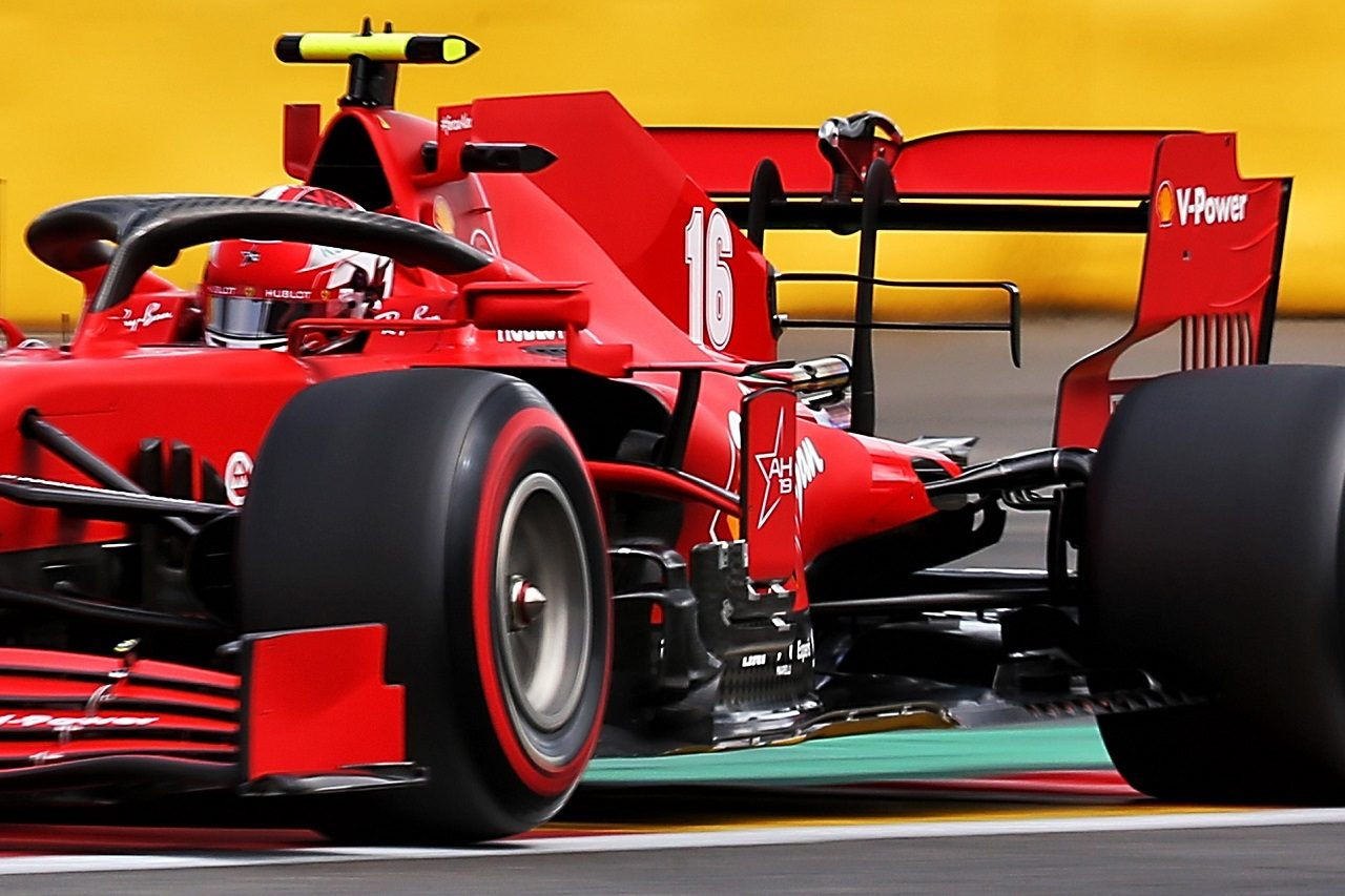 2020年F1第7戦ベルギーGP シャルル・ルクレール(フェラーリ)