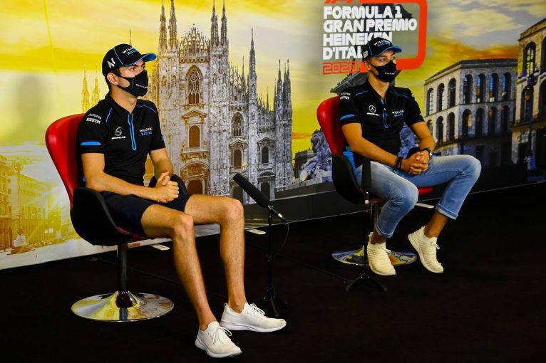 F1 | F1イタリアGP木曜会見(1):ウイリアムズからデビューを果たしたラッセル&ラティフィが胸中を語る