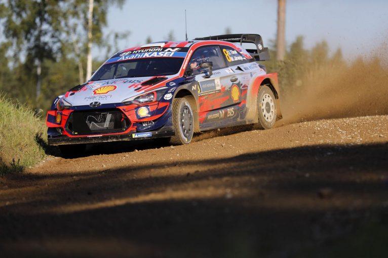 ラリー/WRC   WRC第4戦:ヒュンダイのタナク、母国エストニアのシェイクダウンでトップタイム