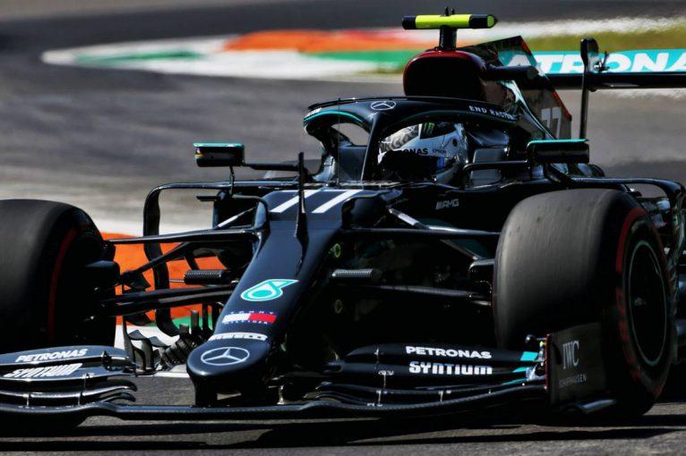 F1 | F1イタリアGP FP1:トップタイムはボッタス。アルボン3番手、ホンダPU勢4台が上位につける