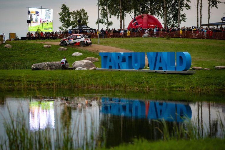 ラリー/WRC | 【順位結果】2020年WRC第4戦エストニア SS1後