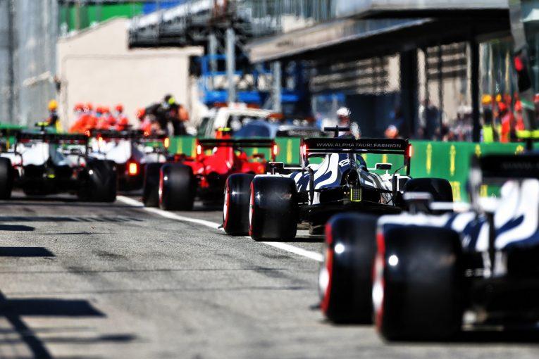 F1 | クビアト「今日の予選はスリップストリームをめぐるゲームだった」アルファタウリ・ホンダ【F1第8戦】
