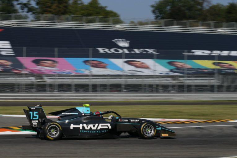 海外レース他 | ヒューズが2勝目。ランキング上位2台が無得点の波乱【順位結果】FIA-F3第8戦イタリア レース2