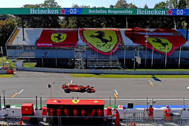 2020年F1第8戦イタリアGP シャルル・ルクレール(フェラーリ)