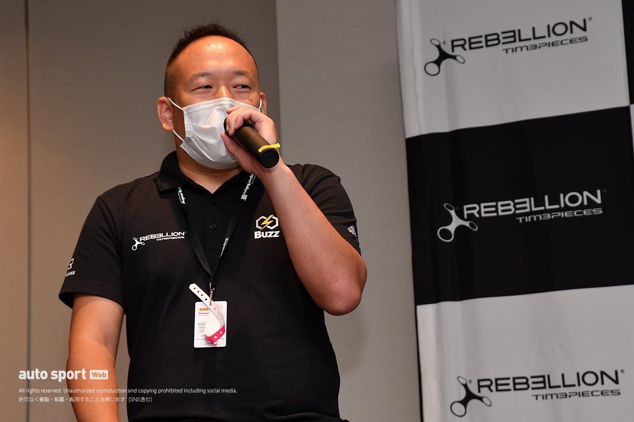 REBELLION JAPAN(レベリオンジャパン)代表の長谷川大祐氏