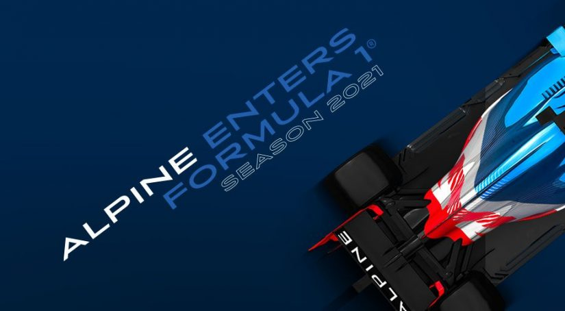 F1 | ルノーが2021年から『アルピーヌF1チーム』に名称変更。マシンカラーも一新へ