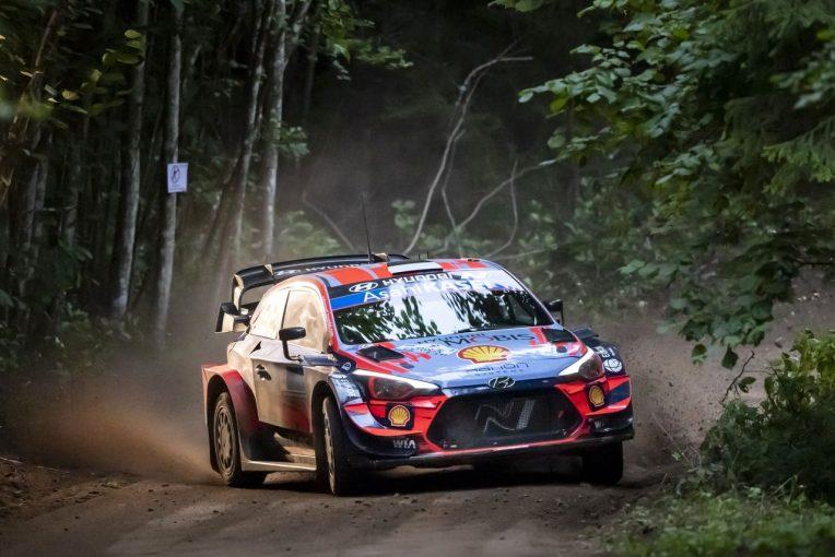 ラリー/WRC | WRCエストニア:ヒュンダイのタナクが母国優勝! トヨタは最終日全SS優勝も反撃及ばず