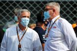 チェイス・キャリー(F1 CEO)&ロス・ブラウン(スポーツ担当マネージングディレクター)