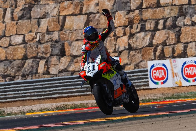 MotoGP | SBK第5戦:インディペンデントチームのリナルディがレース1で自身初優勝。レース2はレイが接戦制す