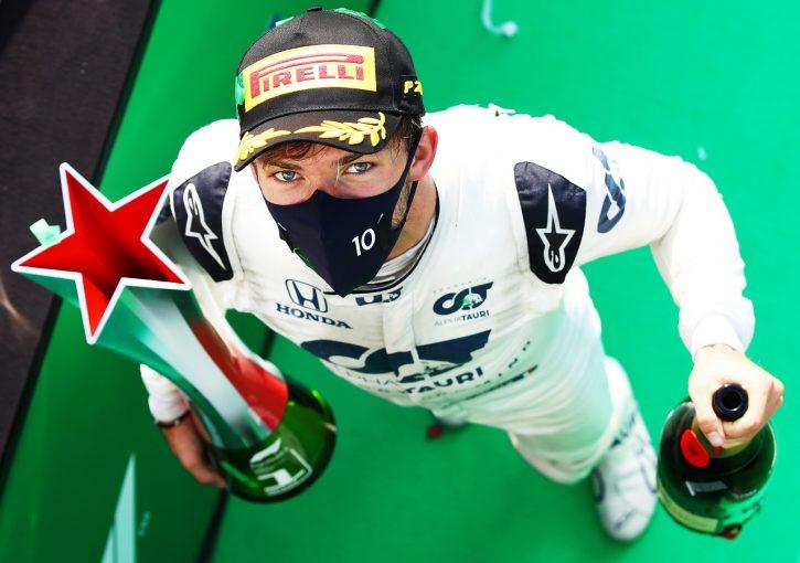 F1 | ホンダ八郷社長がガスリーF1初優勝にコメント「我々を大きく勇気づける快挙」