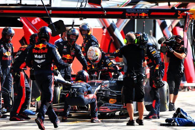 2020年F1第8戦イタリアGP マックス・フェルスタッペン(レッドブル・ホンダ)がリタイア