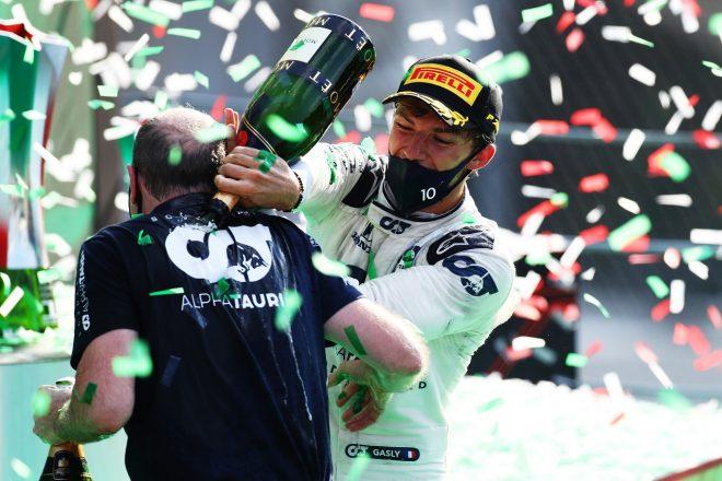 2020年F1第8戦イタリアGP ピエール・ガスリー(アルファタウリ・ホンダ)が初優勝