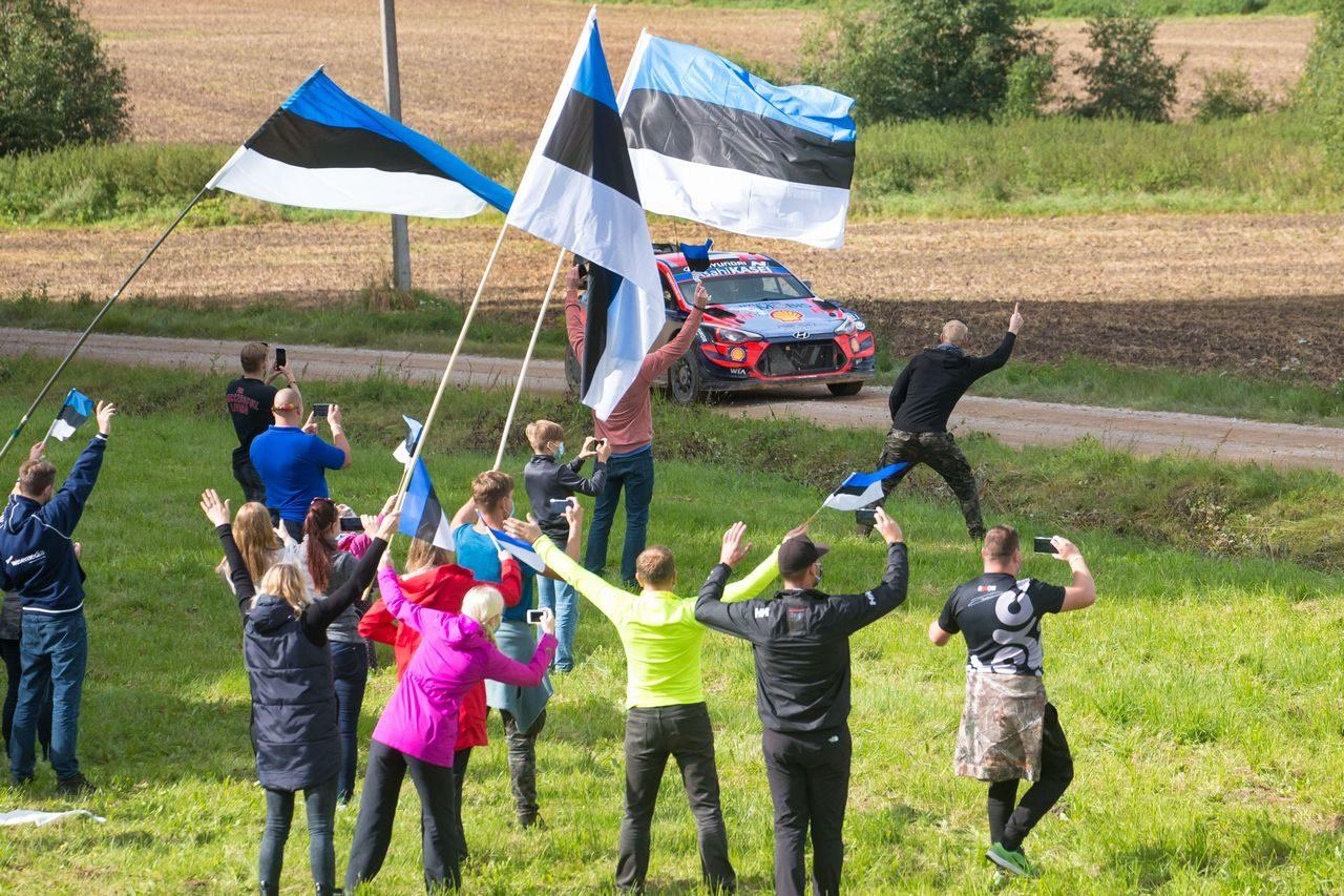 【順位結果】2020年WRC第4戦エストニア SS17後