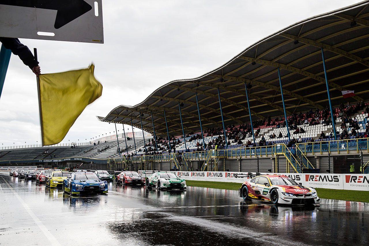 DTM第4戦アッセン:雨のレース2はファン・デル・リンデが14番手スタートから逆転勝利