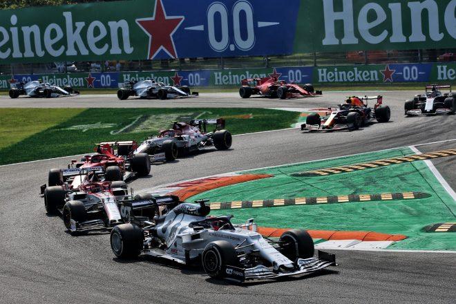 2020年F1第8戦イタリアGP ダニール・クビアト(アルファタウリ・ホンダ)