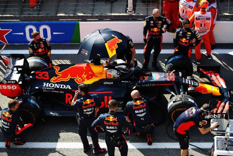 F1 | レッドブル・ホンダ分析:DRSトレイン、PUトラブル、接触&ペナルティ。苦難続きで優勝争いに絡めず