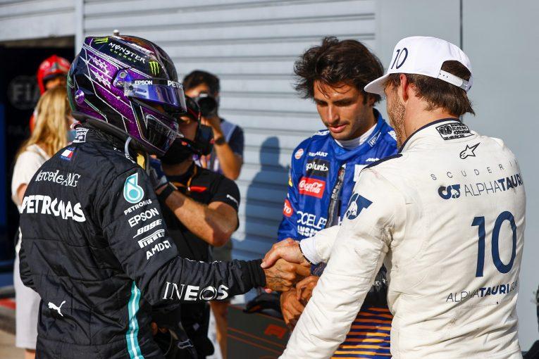 F1 | 痛恨のミスで勝利を失ったハミルトン「ピットの規則違反は僕の責任」メルセデス【F1第8戦決勝】