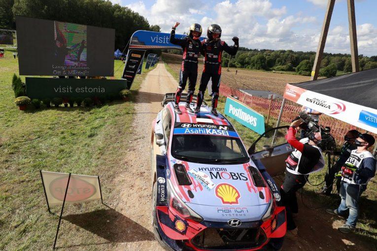 ラリー/WRC | 母国優勝のタナク「大きなプレッシャーから開放された」/WRC第4戦エストニア デイ3後コメント