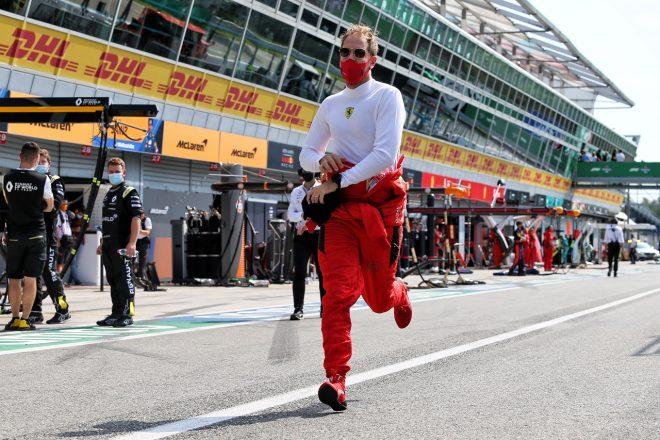 2020年F1第8戦イタリアGP セバスチャン・ベッテル(フェラーリ)