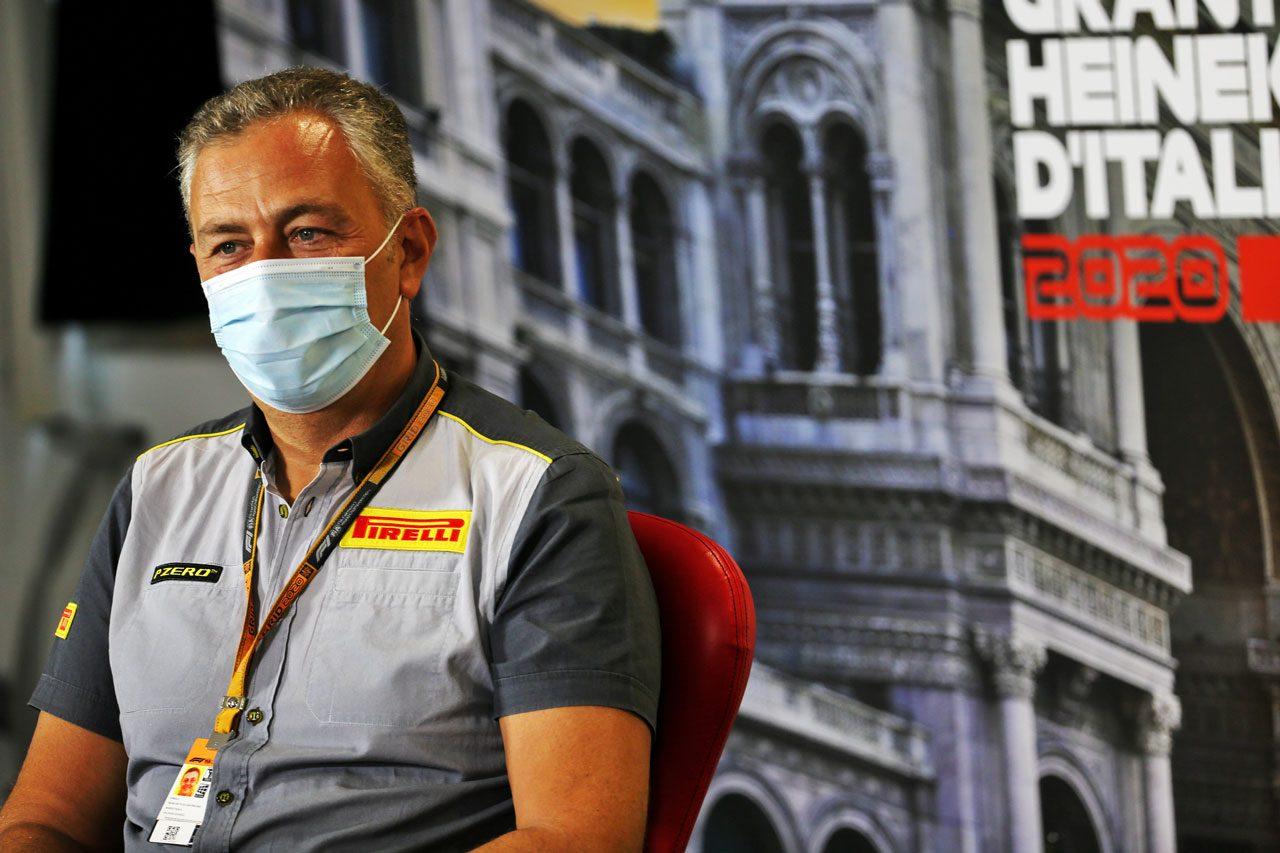 2020年F1第8戦イタリアGP マリオ・イゾラピレリ/ヘッド・オブ・カーレーシング)
