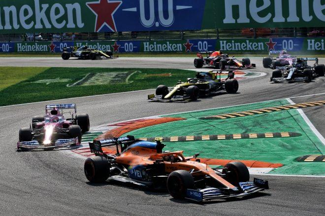 2020年F1第8戦イタリアGP ランド・ノリス(マクラーレン)