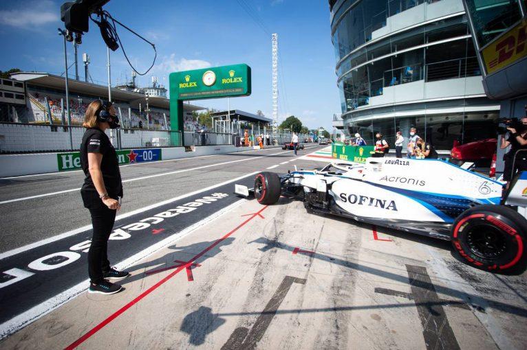 F1 | ラティフィ「結果には満足。クレアとチームのためにポイントを獲れたらよかった」:ウイリアムズ F1第8戦決勝
