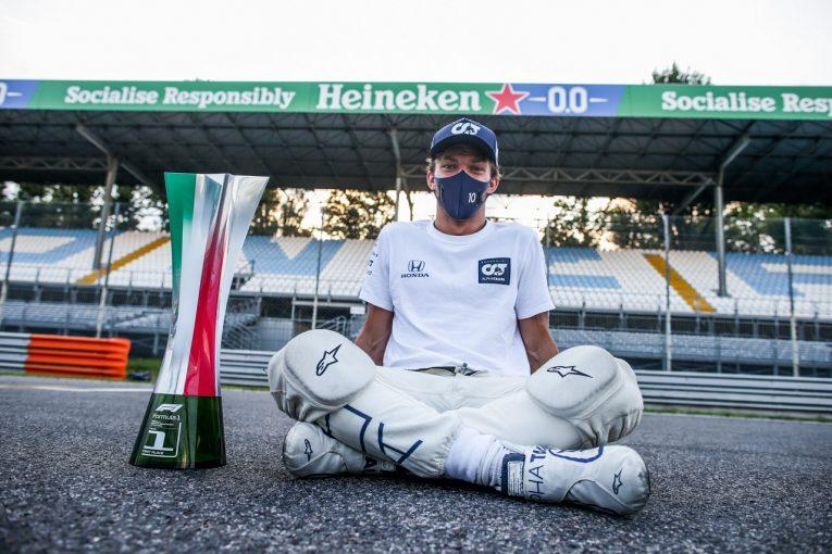 F1 | F1初優勝のガスリー「再びレッドブルで走る準備はできている」降格後の好成績が報われることを望む