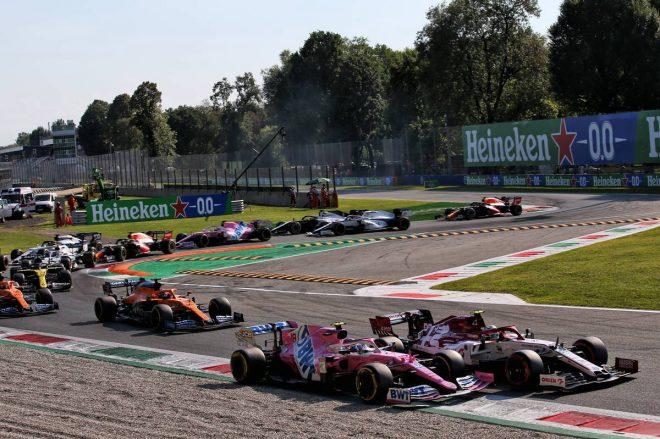 2020年F1第8戦イタリアGP ランス・ストロール(レーシングポイント)