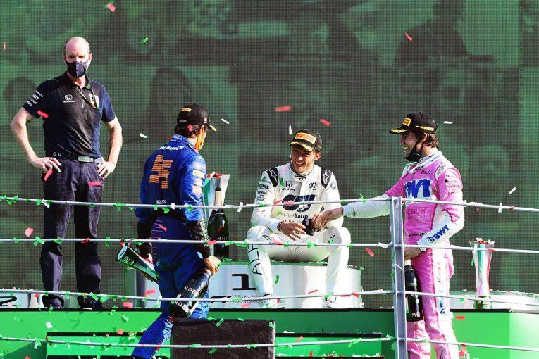 F1 | 【中野信治のF1分析第8戦】感慨深いガスリーのF1初優勝。偶然の奇跡を起こす必然のチカラ『セレンディピティ』
