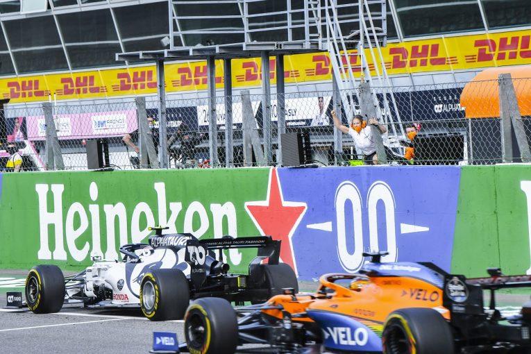 F1 | F1 Topic:ライバルが称賛した最高のディフェンス。なぜガスリーはサインツの猛追を凌げたのか【F1第8戦】
