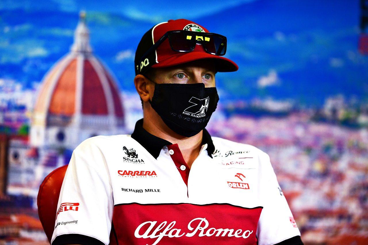 2020年F1第9戦トスカーナGP キミ・ライコネン(アルファロメオ)
