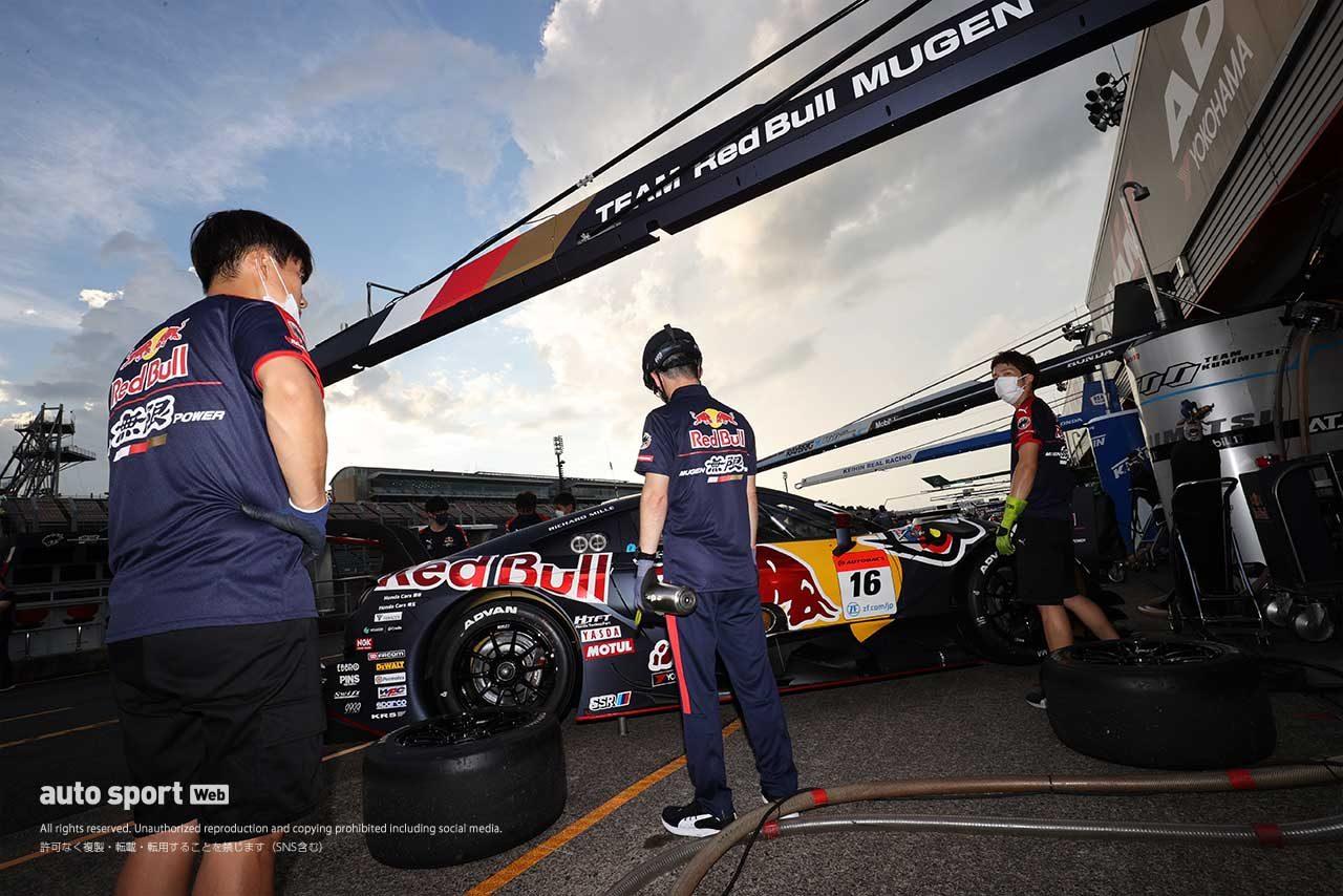 2020年スーパーGT第4戦もてぎ 搬入日 Red Bull MOTUL MUGEN NSX-GT(武藤英紀/笹原右京)