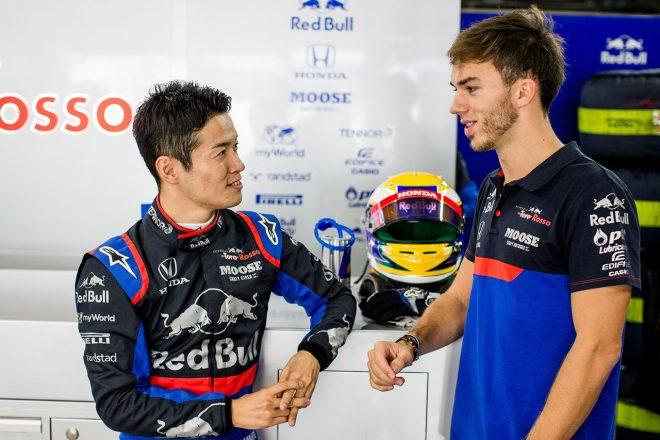 2019年F1日本GPでFP1を走行した山本尚貴。初めてF1を走らせる山本にガスリーは「アドバイスをくれた」という。