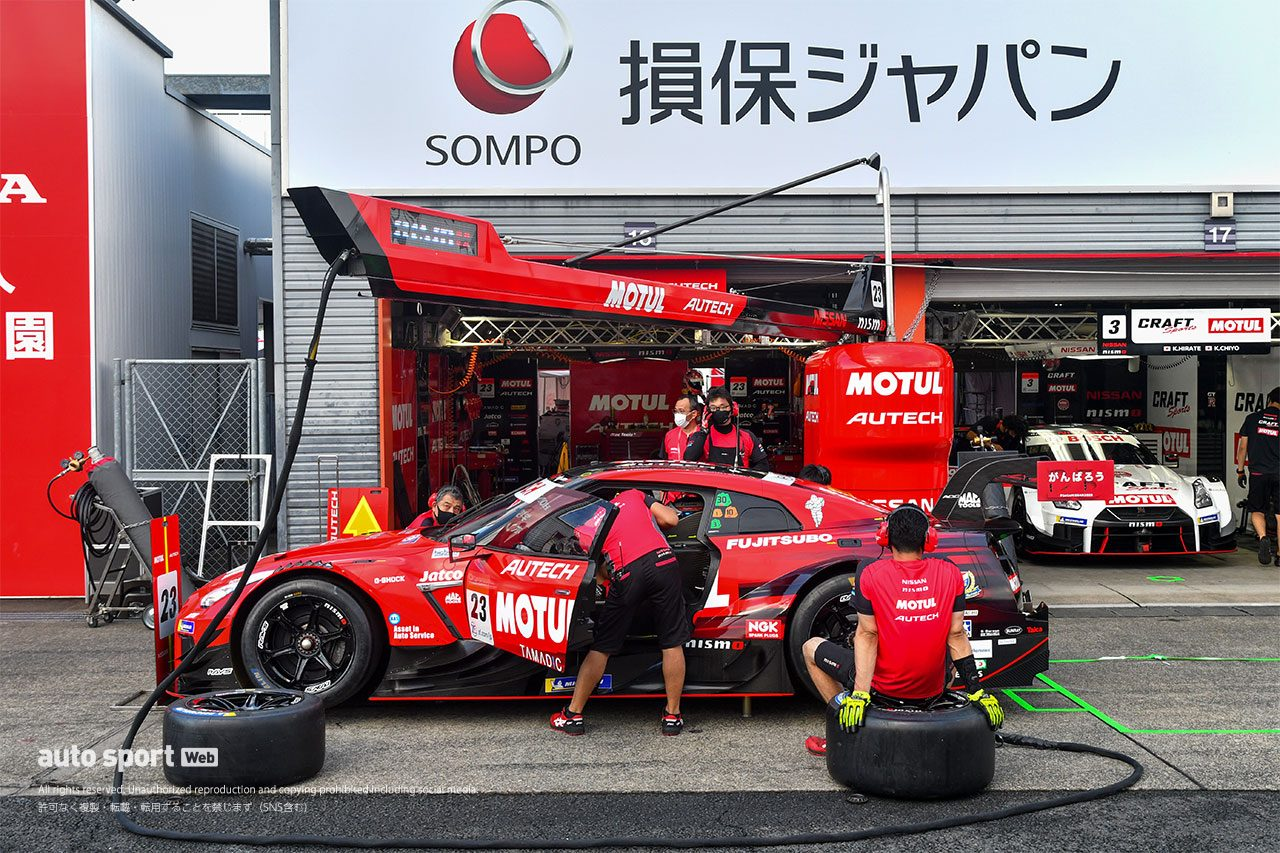 スーパーGT第4戦『FUJIMAKI GROUP MOTEGI GT 300km RACE』9月11日の様子
