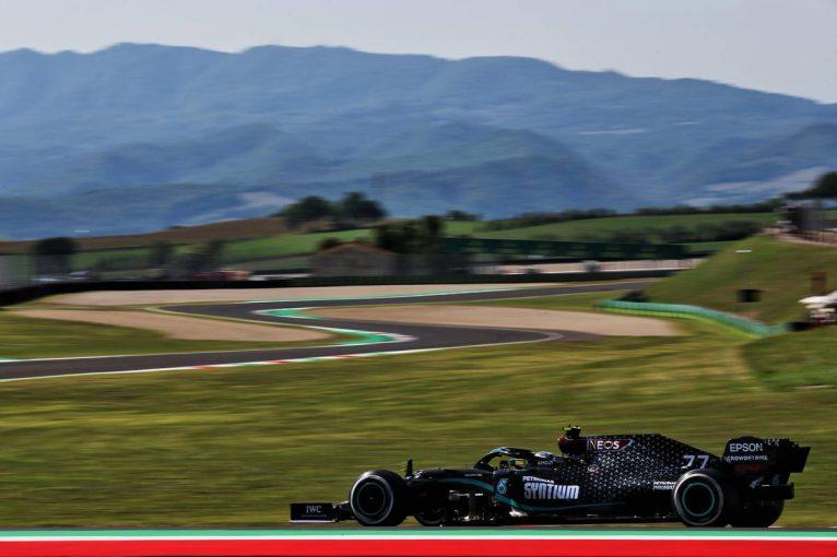 F1 | F1トスカーナGP FP1:初開催のムジェロでボッタスが首位。ホンダPU勢4台がトップ10に