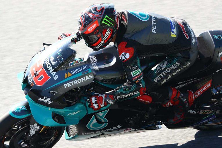 MotoGP | MotoGP第7戦:クアルタラロがトップタイム。初日総合はトップ3をヤマハ勢が占める