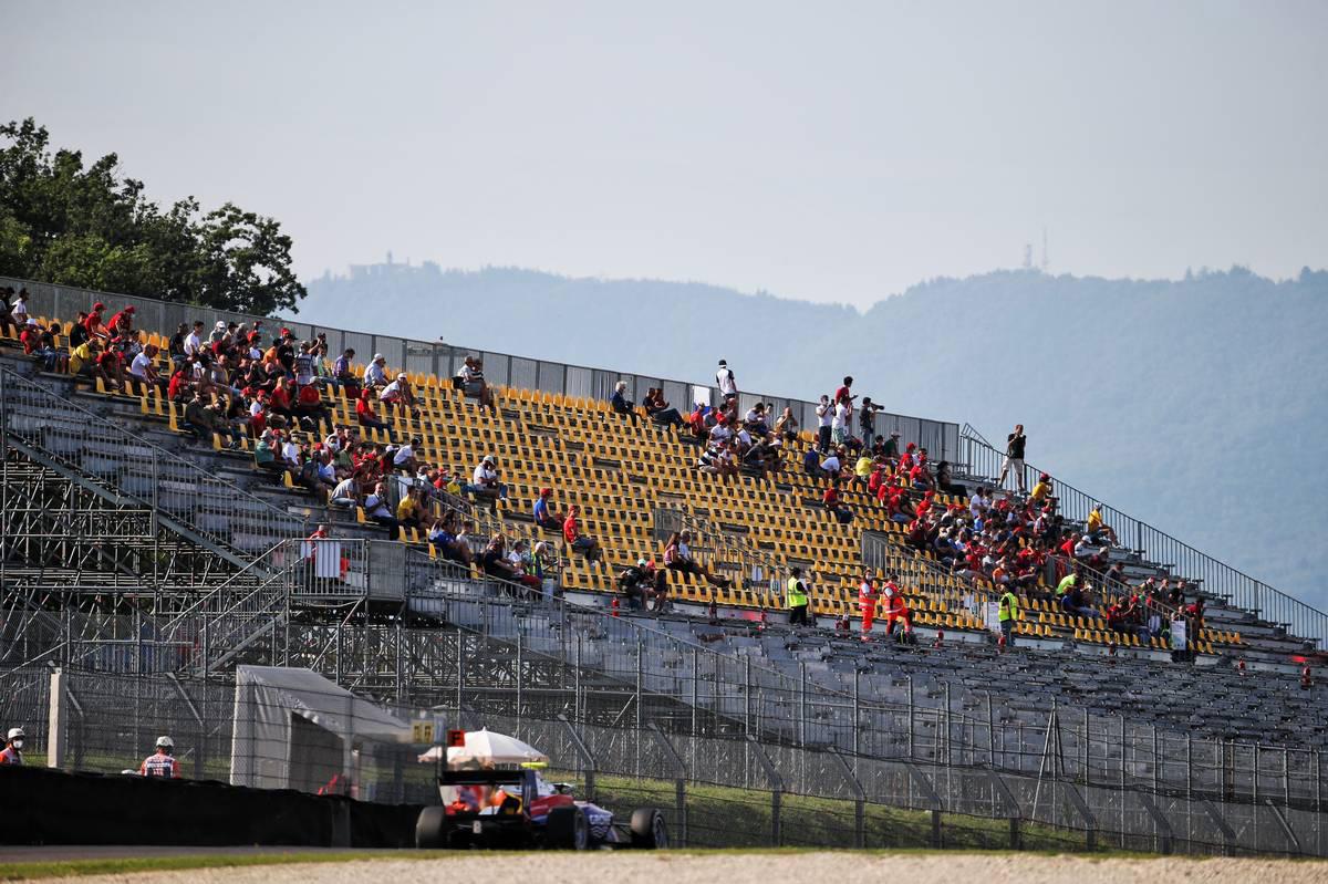 2020年F1第9戦トスカーナGP グランドスタンドの観客