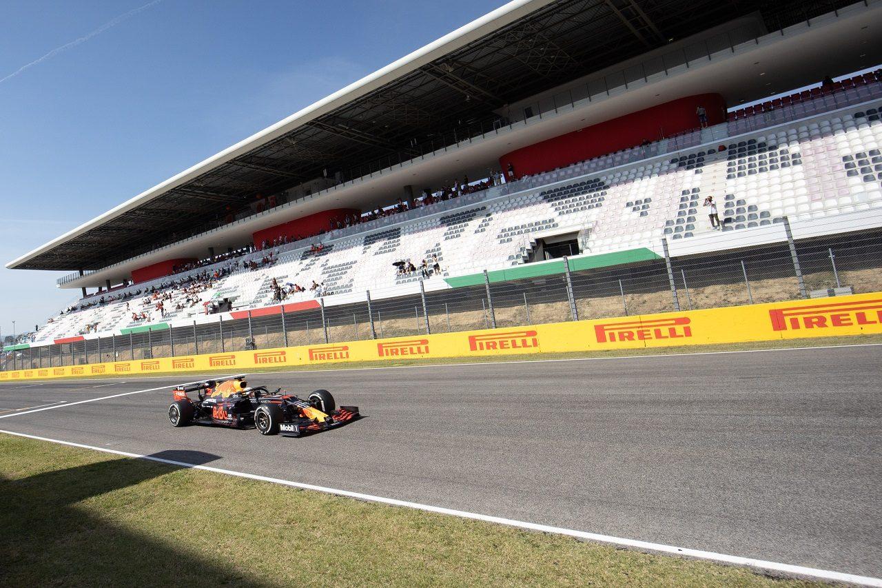 2020年F1第9戦トスカーナGP マックス・フェルスタッペン(レッドブル・ホンダ)