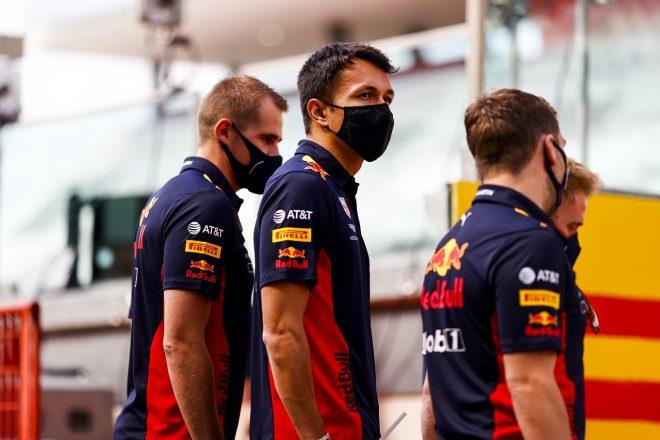 2020年F1第9戦トスカーナGP アレクサンダー・アルボン(レッドブル・ホンダ)