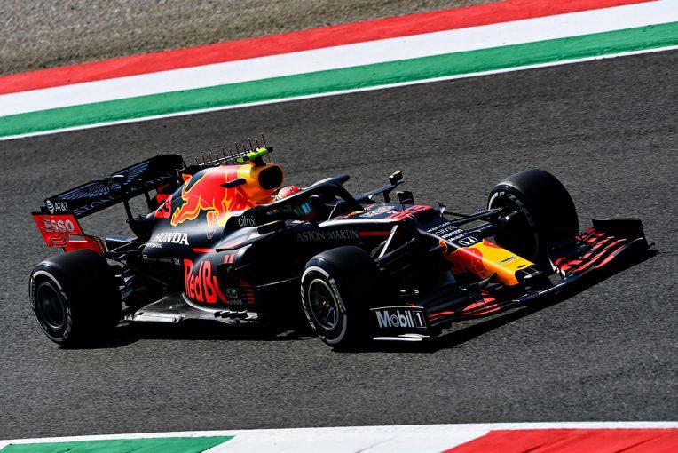 F1 | レッドブル・ホンダ分析:「苦戦したモンツァに比べれば雲泥の差」フェルスタッペン&アルボンは上々の滑り出し