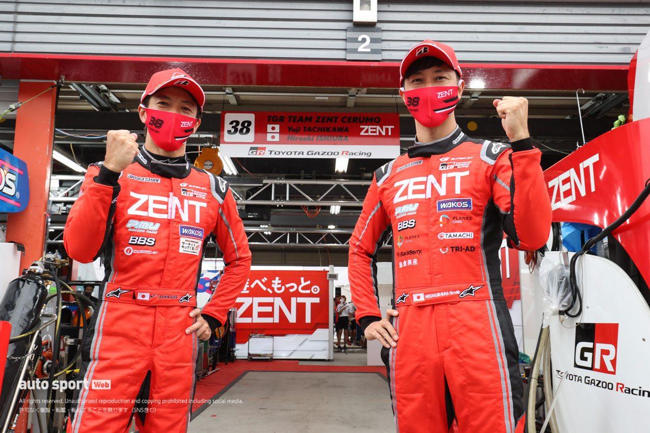 スーパーGT第4戦もてぎ 公式予選ZENT GR Supra