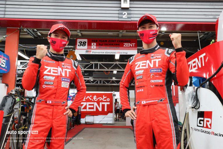 スーパーGT | 立川祐路が最多記録を更新。ZENT GRスープラが難コンディションで今季初ポール獲得【第4戦もてぎGT500予選】