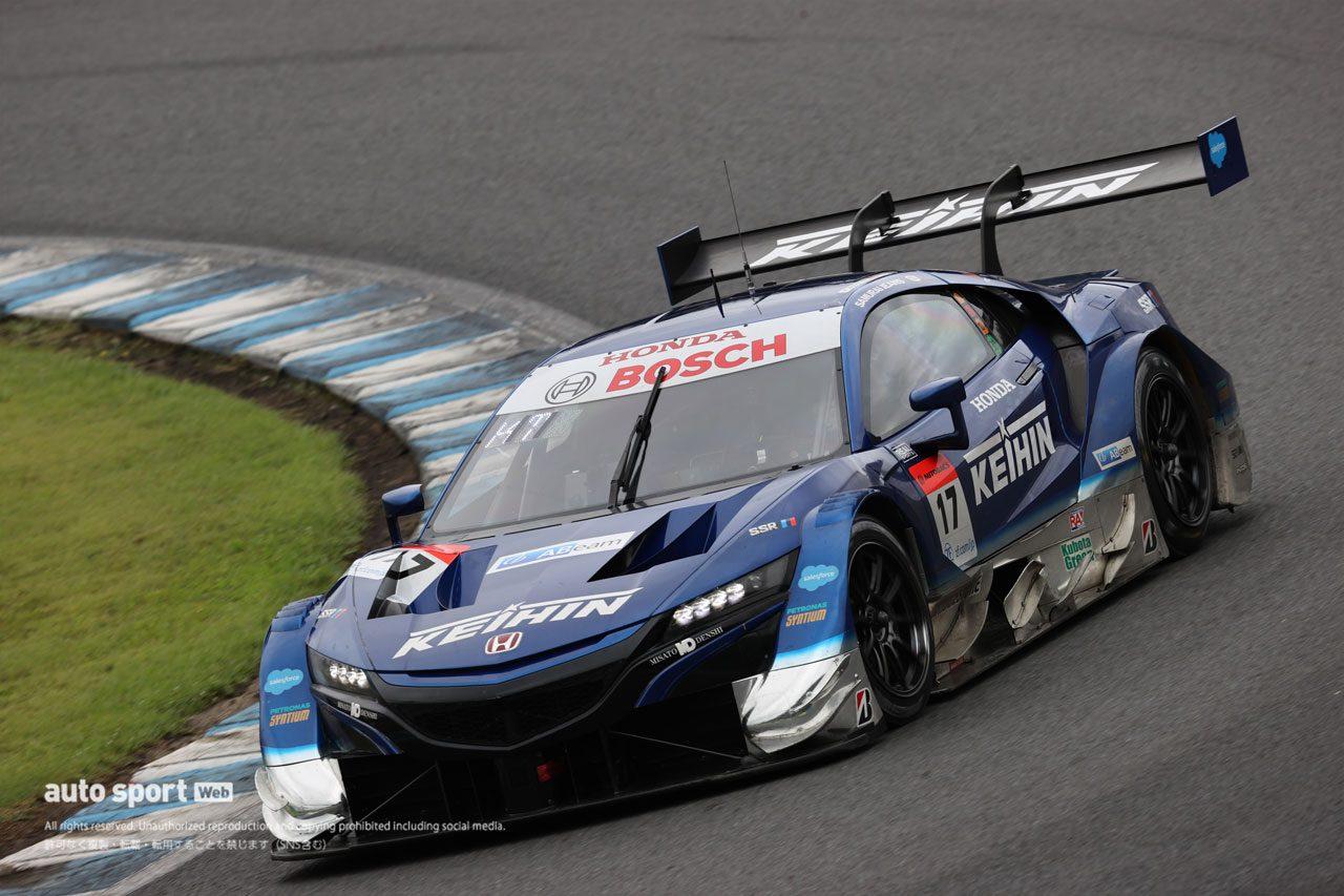 スーパーGT第4戦もてぎ 公式予選 KEIHIN NSX-GT