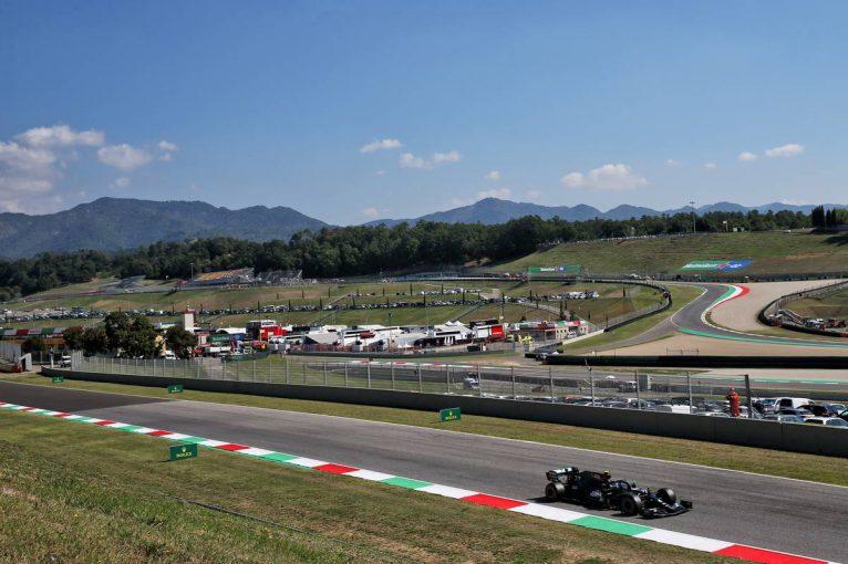 F1 | ボッタスが首位、フェルスタッペンが2番手に続く【タイム結果】F1第9戦トスカーナGPフリー走行3回目