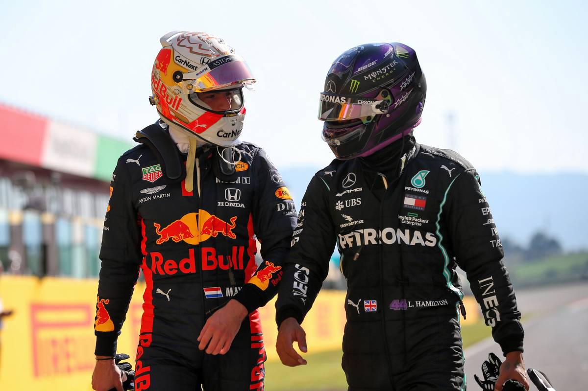 2020年F1第9戦トスカーナGP ルイス・ハミルトン(メルセデス)