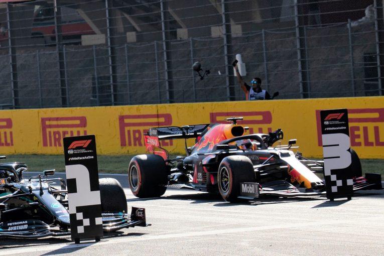 F1 | ホンダPU勢がメルセデスに次ぐ2列目を独占「決勝の展開は予測困難だが、目標は4台入賞」と田辺TD【F1第9戦予選】